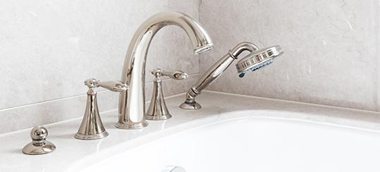 Two-Three Handle Tub/Shower Faucet